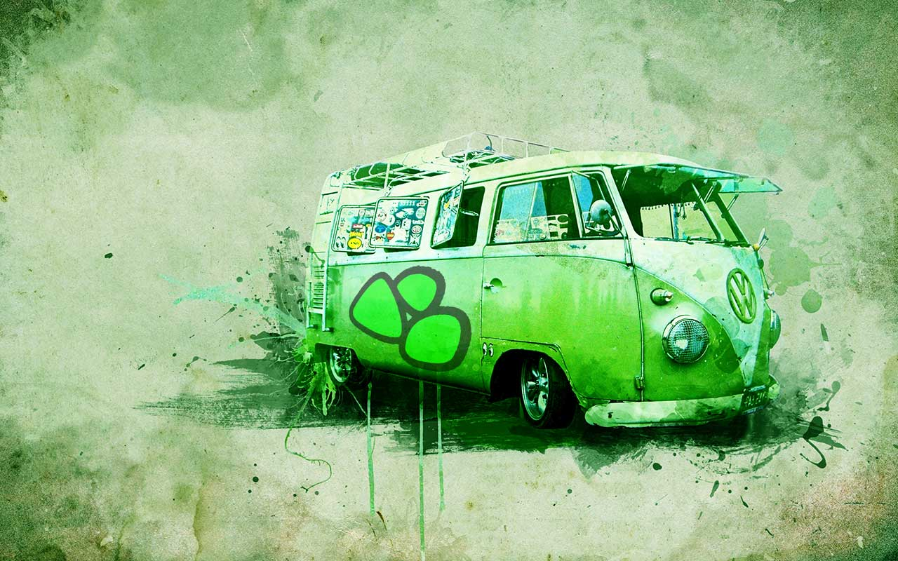 green-vw-bus-1280x800